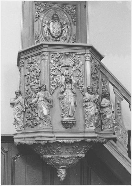Chaire à prêcher (détail)