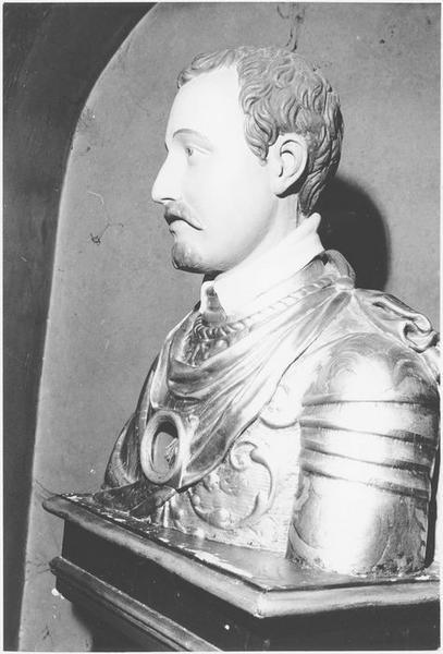 buste-reliquaire : saint Quirin