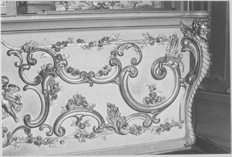 Autel, tabernacle, retable du maître-autel (détail)
