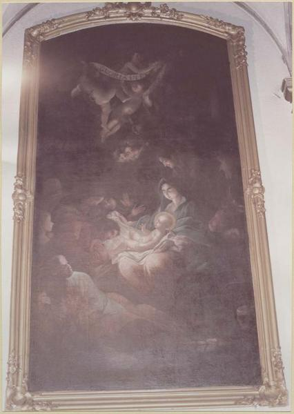 tableau, cadre : la Nativité