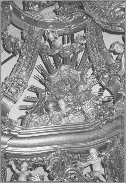 Baldaquin d'autel (maître-autel) (détail)