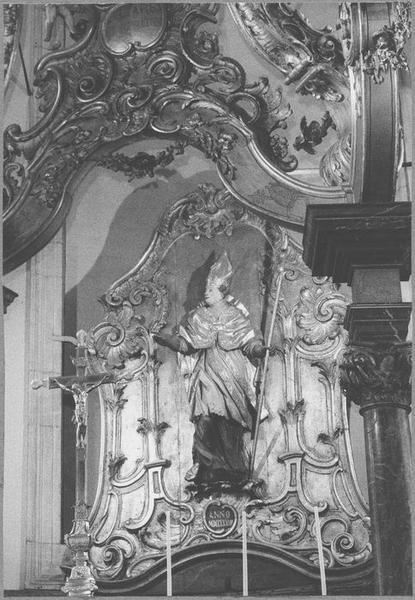Baldaquin d'autel (maître-autel) (détail partie centrale)