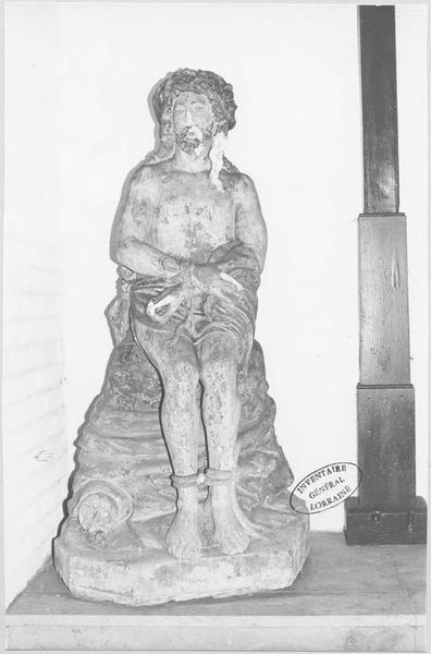 Statue : Christ de Pitié dit bon-Dieu de Pitié
