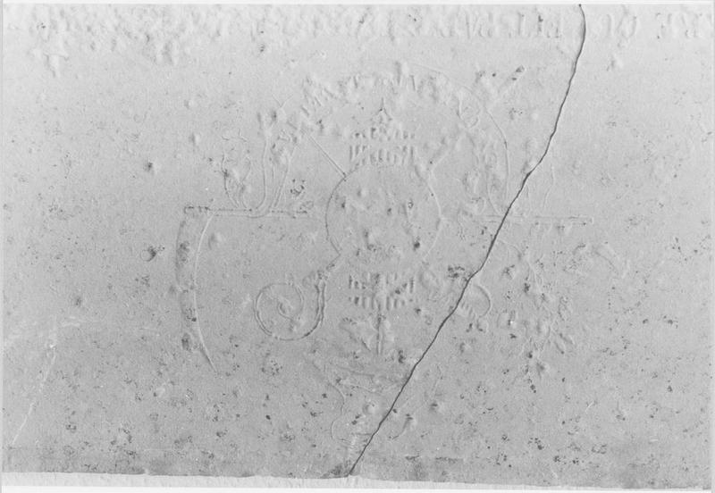 Plaque commémorative dite Pierre de la Bastille
