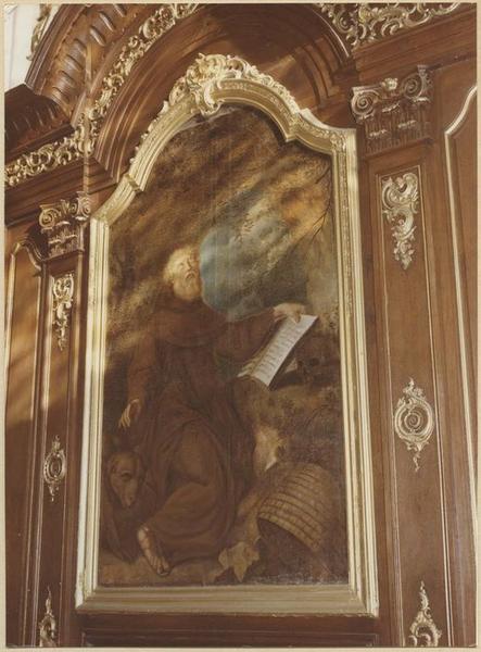Lambris de revêtement, tableau : saint Marien
