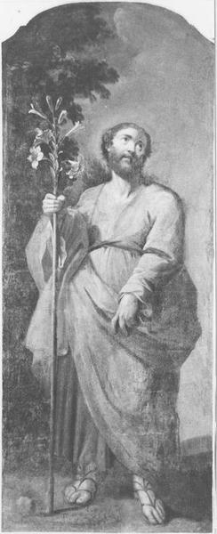 Lambris de revêtement, tableau : saint Joseph