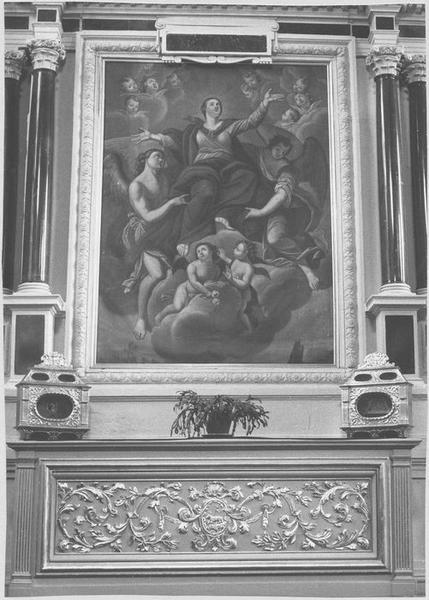 Retable de la sainte Trinité, 2 reliquaires