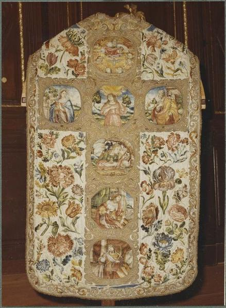 Chasuble (ornements dits des Dominicaines) (dos)