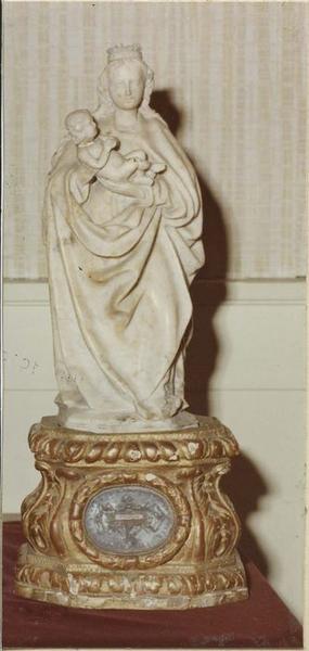 statuette : Vierge à l'Enfant