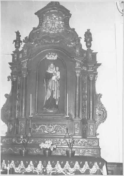 Autel, retable (autel secondaire)