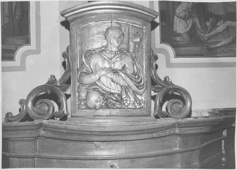 Confessionnal (détail sculpté)