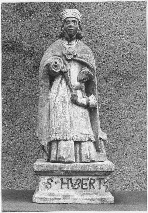 statue : Saint Hubert