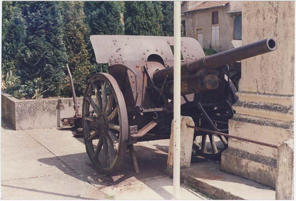 canon allemand de la Première Guerre mondiale n°1