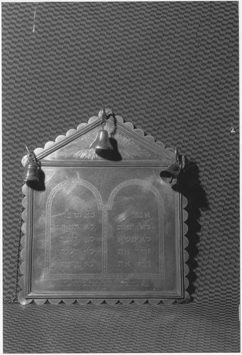 plaque de Torah (tass)
