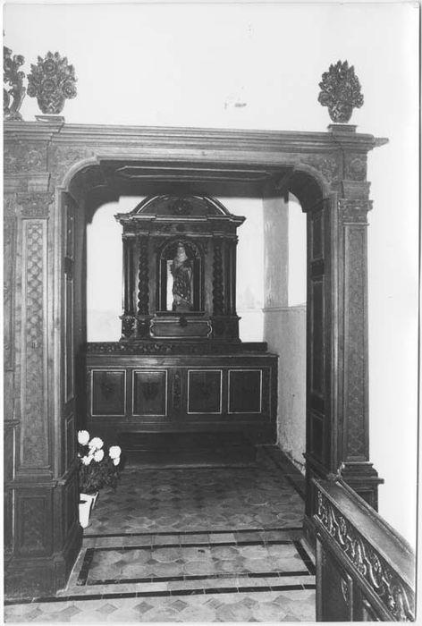 autel latéral sud et retable