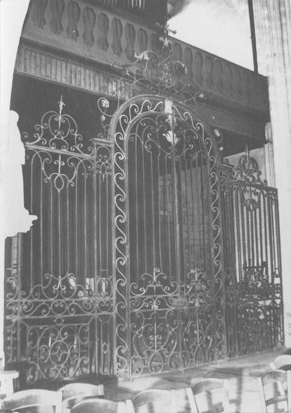 clôture, vue générale