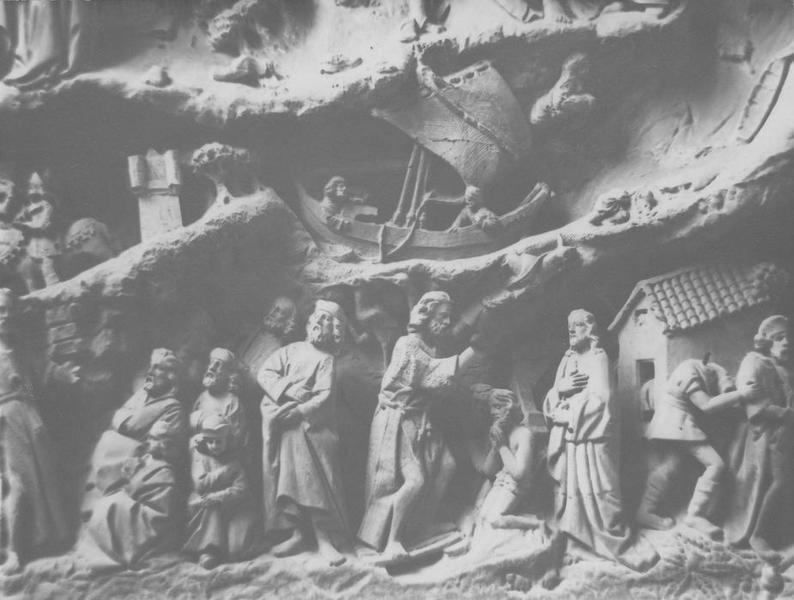 retable : la vie de saint Jean-Baptiste