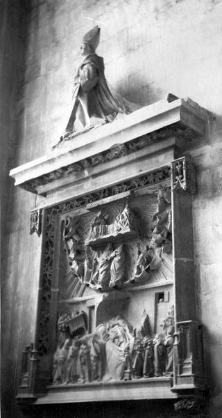 Retable : la Mort et Couronnement de la Vierge