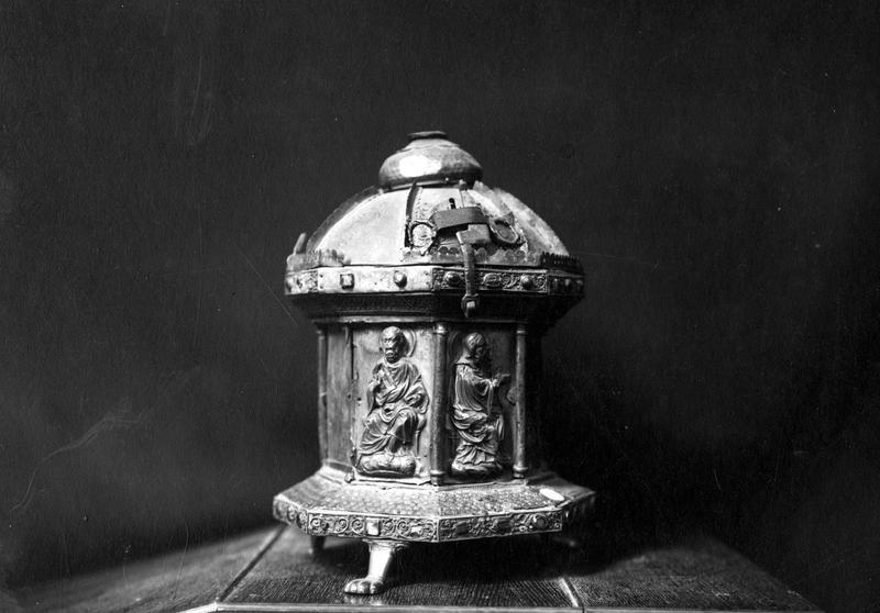 Reliquaire dit du crâne de saint Renobert