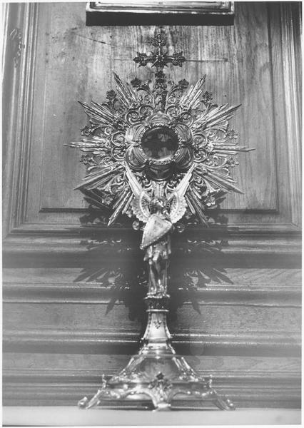 Ostensoir de saint Michel dit Reliquaire de Saint Michel, vue générale