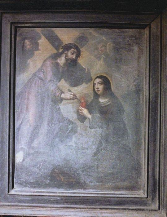 Tableau : Sainte Catherine de Gênes
