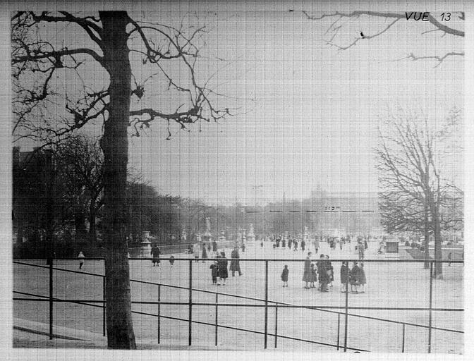 Panorama sur les Tuileries et la gare d'Orsay