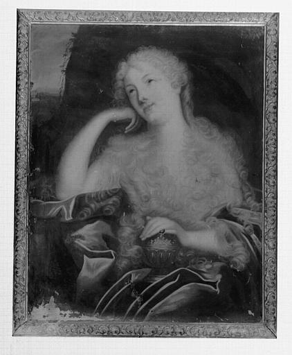 Peinture sur toile : Marie Madeleine