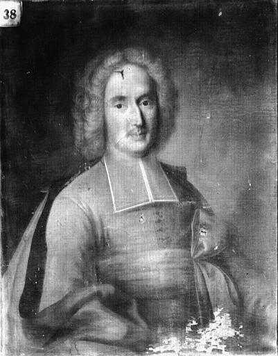 Peinture sur toile : Portrait de Pierre de Chambonas