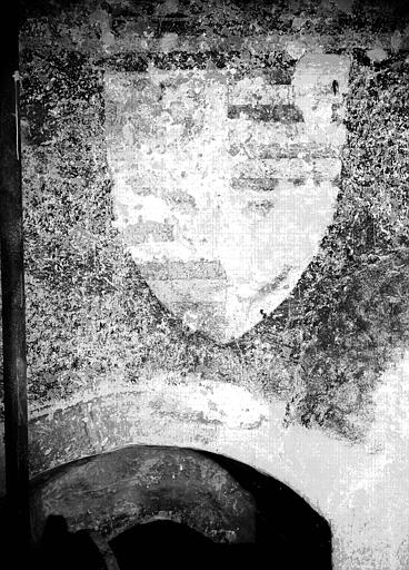décor peint du choeur : saint Michel terrassant le démon, Martyre de saint Gilles (le), le Martyre de saint Sébastien, collège des apôtres (le).