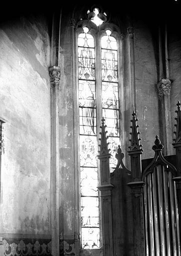 Verrière : Saint Matthieu, Saint Jean, Jérémie, Isaïe (baie 1)