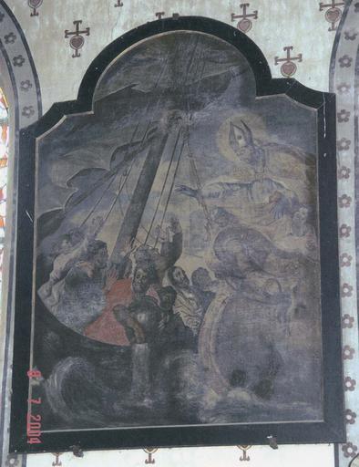 Tableau : saint Nicolas patron des marins apaisant la tempête (déplacé)