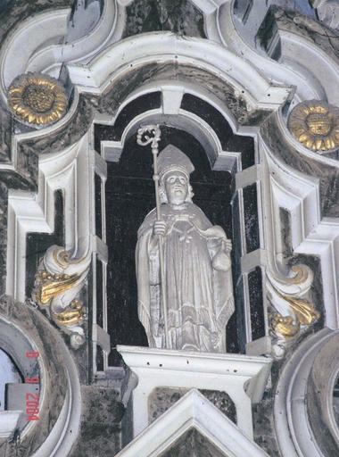 Statue de saint Nicolas du retable dédié à ce saint