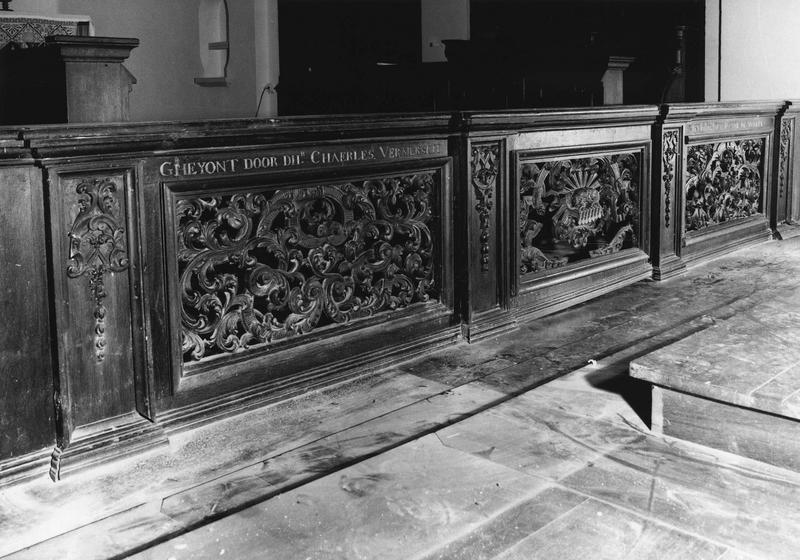 Clôture liturgique (table de communion) : Agneau mystique (l')