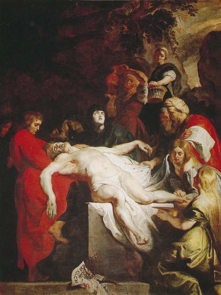 tableau : Mise au tombeau (la), vue générale