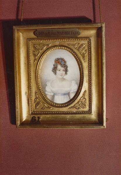 Tableau, cadre : Portrait de jeune fille