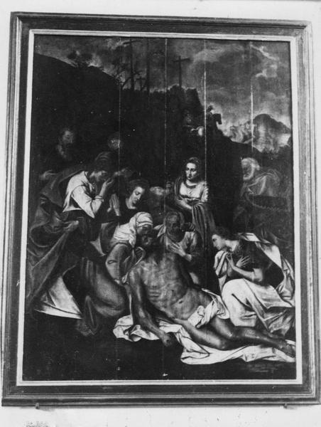 tableau : Descente de Croix (la), vue générale