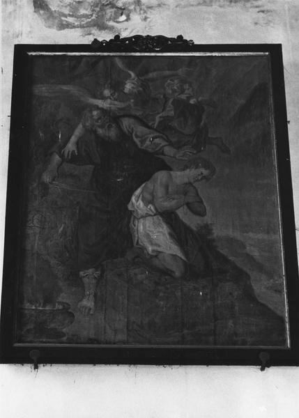 Tableau : le Sacrifice d'Abraham