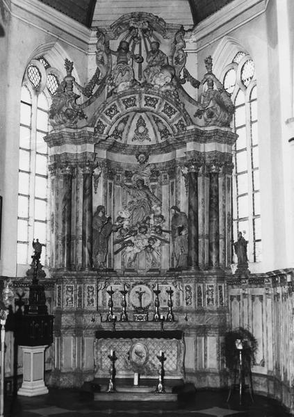 Retable de la Vierge (ensemble des retables de la Vierge et de Saint-Nicolas)