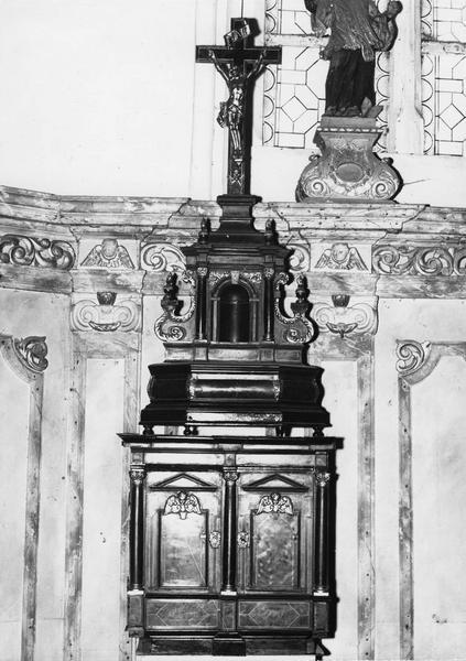 Tabernacle de l'autel retable de Saint-Nicolas