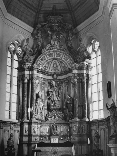 retable de Saint-Nicolas, vue générale