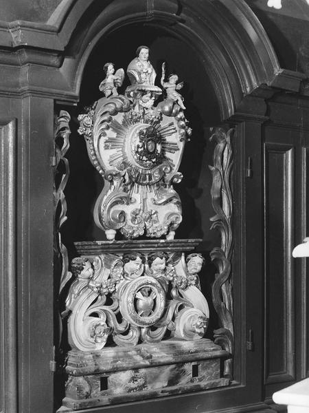 Reliquaire (porte reliquaire de procession) de Saint-Gilles