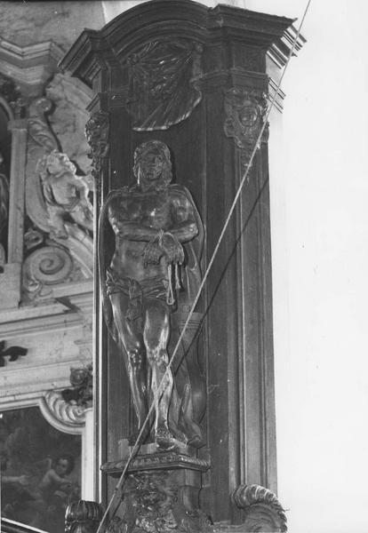 Statue : Christ aux liens (en pendant)
