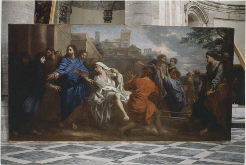 Tableau : la Résurrection du fils de la veuve de Naïm, vue générale