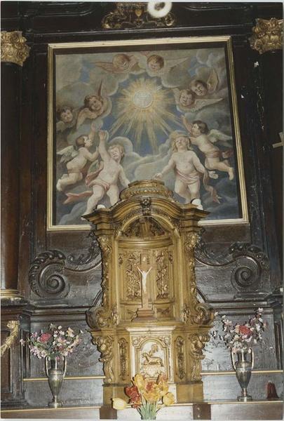 Tableau du maître-autel: adoration de l'Eucharistie  (l')?, vue générale