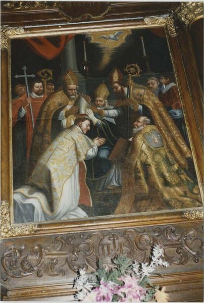 Tableau du retable du saint Sacrement, vue générale