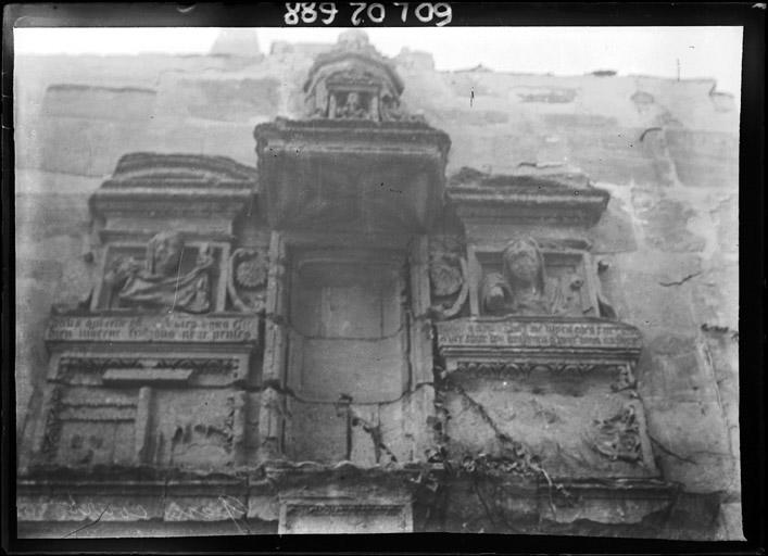 Ancien portail de la façade sud