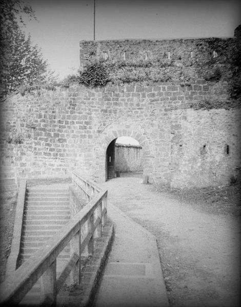 Porte Saint-Jacques, côté extérieur