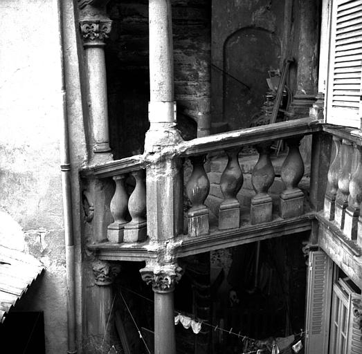 Tourelle d'escalier