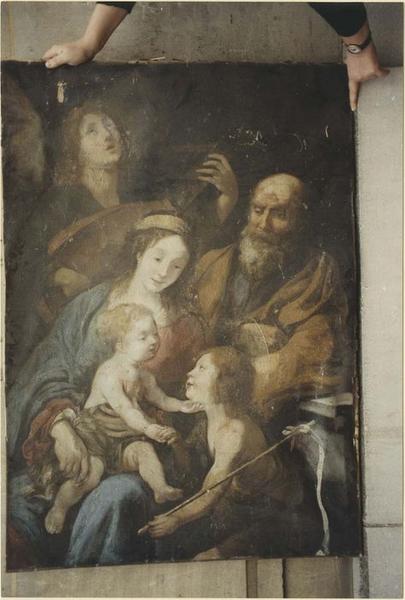 tableau : Sainte Famille, vue générale