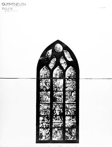 Photomontage de vitrail : Passion